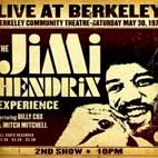jimi hendrix: Live At Berkeley: 2nd Show