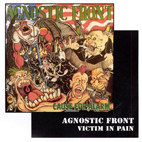 agnostic front: Cause For Alarm/Victim In Pain