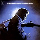 johnny cash: At San Quentin