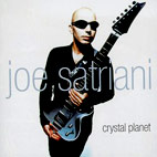 joe satriani: Crystal Planet