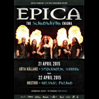epica: Live at Gota Kallare Stockholm, Sweden, April 21, 2015