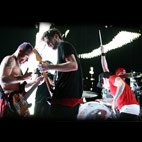 red hot chili peppers: Ireland (Dublin), November 4, 2012
