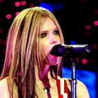 avril lavigne: USA (Atlanta), October 28, 2004