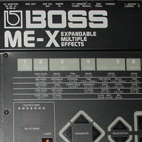 Boss: ME-X Expandable Multiple Effects