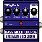 DigiTech: Bass Multi Chorus
