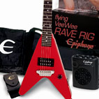 Epiphone: Flying Vee Wee Rave Rig