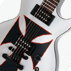 Epiphone: LP Iron Cross Baritone