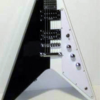 Galveston: Acrylic Flying V Left Handed