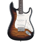 Squier: Deluxe Stratocaster QMT