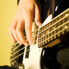 Bass Guitar Practice and Warm Up at the Same Time