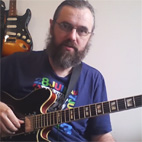 Jazz Blues Chord Solo With Jens Larsen