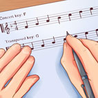 An Easy Way to Transpose Music