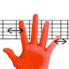 Fretting Hand Movements
