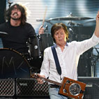 Nirvana Reunite Fronted By Paul McCartney