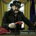 Lemmy Kilmister Featured As The US President In The Latest 'Return To Nuke 'Em High' Teaser