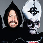 Dave Grohl Performed With Ghost Wearing a Costume