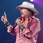 Axl Rose Mocks RHCP Super Bowl Show: 'Maybe They Had Microchips in their Asses'