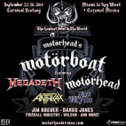 Motorhead Cruise Features Anthrax, Megadeth, Zakk Wylde and More