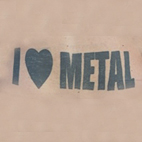 Fan Expresses Immutable Love of Heavy Sound With 'I Love Metal' Tramp Stamp