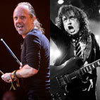 Metallica's Lars Ulrich Tips AC/DC for Next Year's Glastonbury