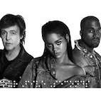 Rihanna, Kanye, McCartney Release Collaboration Song 'FourFiveSeconds'