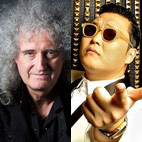 Brian May Officially Confirms Psy Collaboration
