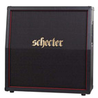 Schecter Guitar Research Announces The 'Hellraiser Stage Depth Charge' Powered 4x12 Cabinet as Part of Schecter's New Amplification Division