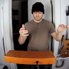 Today in Awesomely Weird Instruments: Rob Scallon Jams on a Theremin