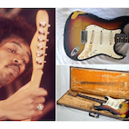 Jimi Hendrix's $370 Guitar Now Being Sold for $750,000