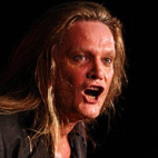 Sebastian Bach Takes Tumble During Opening Song of Beverly Hills Show