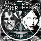 Alice Cooper And Marilyn Manson Announce 2013 Tour