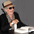 Keith Richards Owes £20,000 in Library Fines