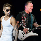 Metallica: 'Yes, We Are Beliebers'