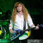 Dave Mustaine: 'Three Best Rhythm Guitar Players in the World Were Myself, James Hetfield and Malcolm Young'