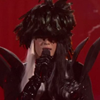 Sebastian Bach Dresses as Lady Gaga for 'Sing Your Face Off' Performance