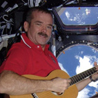 Astronaut Chris Hadfield to Release Album He Recorded In Space
