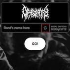 Metal Captcha Tests If You're a Metalhead or a Bot By Using Metal Band Logos