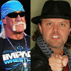 Lars Ulrich Denies Hulk Hogan Almost Joined Metallica