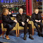 Led Zeppelin On 'The Late Show' With David Letterman