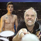 Metallica's Lars Ulrich: 'Justin Bieber Is a Talented Kid'