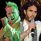 War of Words: Johnny Rotten vs. Russell Brand