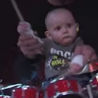 Baby Drummer Who Rocked Pantera Receives Drum Kit From Vinnie Paul, Gets to Perform on 'Jimmy Kimmel'