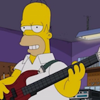 Homer Simpson Becomes Bassist in New Episode of 'The Simpsons,' Acts Hilariously Stereotypical