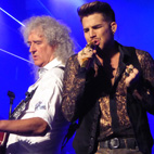 Adam Lambert: Singing With Queen Is 'Not a Permanent Position'