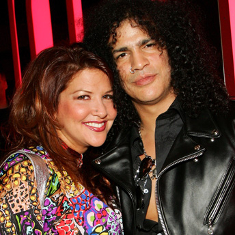 Slash's Wife Criticises Axl Rose