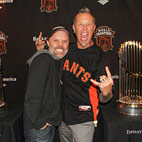 Metallica Teams With The San Francisco Giants To Take On The Los Angeles Dodgers