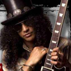 Slash Posts Guitar Playing Tips: 'Practice Excessively'
