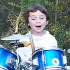 Five-Year-Old Drummer Covers Pink Floyd Like a Champ