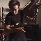 Slo-Mo: Watch a Guitar Swing Go Horribly Wrong