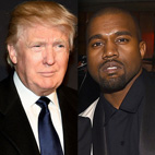 Donald Trump Backs Kanye West's Supposed 2020 Presidential Bid